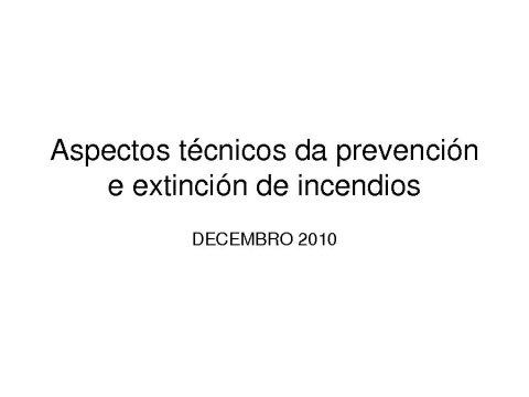 Presentación José Carlos Costas López, subdirector xeral de Prevención e Defensa contra os Incendios Forestais.  - Xornada: Competencias da Administración Local na aplicación da Lei 3/2007,de 9 abril, de prevención e defensa contra os incendios forestais de Galicia